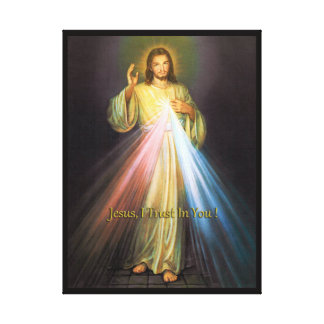 DIVINE MERCY CANVAS PRINT