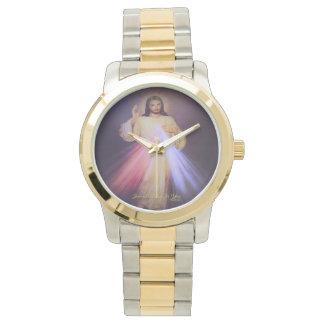 Divine Mercy Gold 2013 Wrist Watch