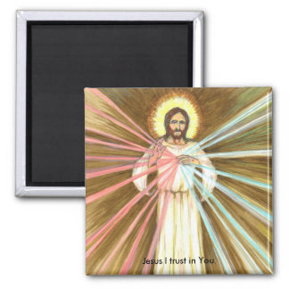 Divine Mercy-Jesus I Trust in You-Fridge Magnet
