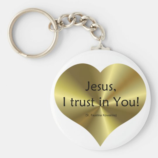 Divine Mercy: Jesus I trust in You Key