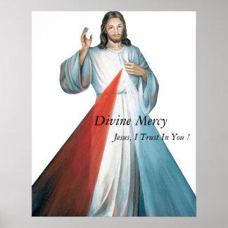 Divine Mercy Jesus I Trust In You ! Poster