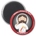 Divine Mercy of Jesus Refrigerator Magnets