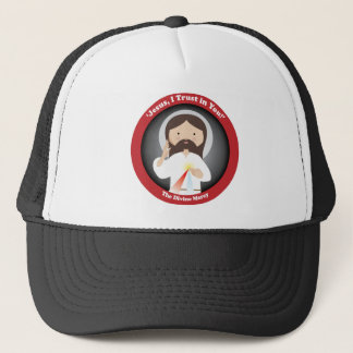 Divine Mercy of Jesus Trucker Hat