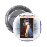 Divine Mercy Pinback Button