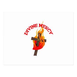 DIVINE MERCY POST CARD