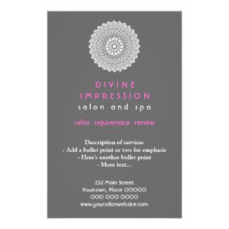 Divine Pink Impression Vertical 14 Cm X 21.5 Cm Flyer