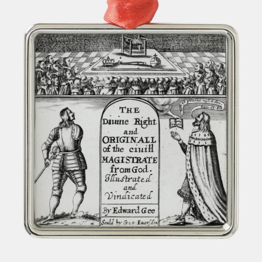 Divine Right Original Civil Magistrate from Christmas Ornament