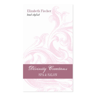 Divine Sconce Salon Appointment Business Card Template