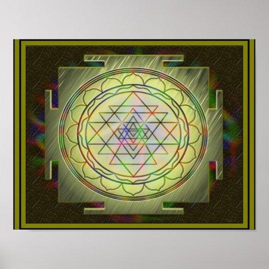 Divine Sri Yantra10 Poster