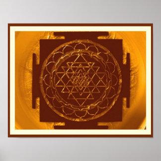 Divine Sri Yantra2 Poster