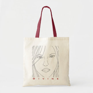 Divine Tote Canvas Bag