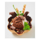 Divinely Decadent Ice Cream Poster
