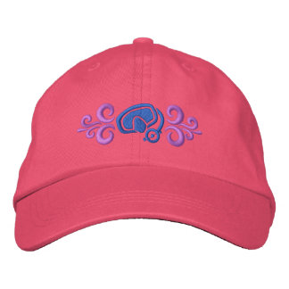 Diving Embroidered Hat
