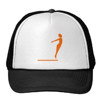 Diving Figure - Orange Cap