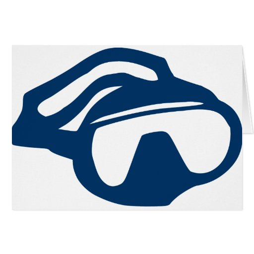 Diving - Goggles Greeting Cards