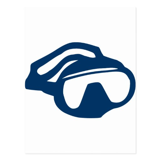 Diving - Goggles Post Cards