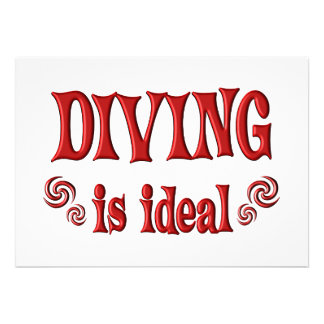 Diving is Ideal Announcements