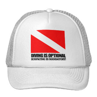 Diving is Optional Hat