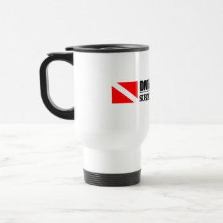 Diving is Optional Coffee Mugs