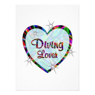 Diving Lover Custom Invites