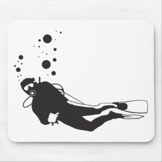 Diving Mouse Pad