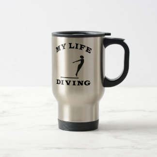 Diving My Life Stainless Steel Travel Mug