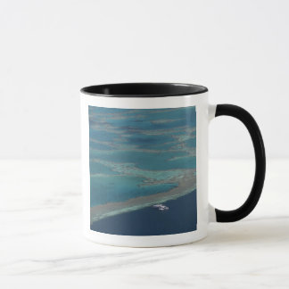 Diving platforms near reef, Great Barrier Mug