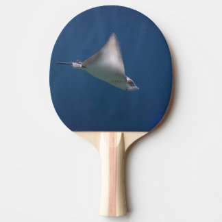Diving Stingray Ping Pong Paddle