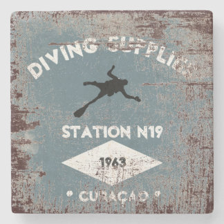 Diving Supplies Stone Coaster