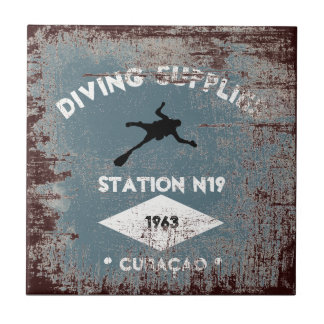 Diving Supplies Tile