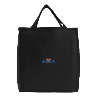 Diving Tribal Embroidered Bag