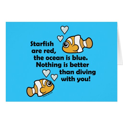 Diving With You Greeting Cards