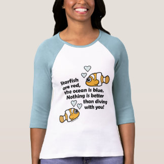 Diving With You Shirts