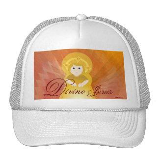 Divino Jesus Dazzling Love Fiery Angel's Wings Cap