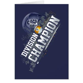 Division Champion 9-Ball Card