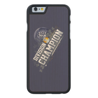 Division Champion 9-Ball Carved Maple iPhone 6 Case