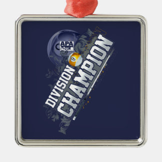 Division Champion 9-Ball Christmas Ornament