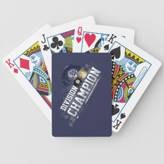 Division Champion Bicycle Playing Cards