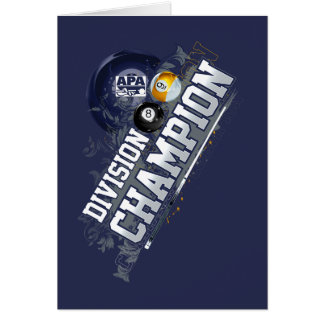 Division Champion Card