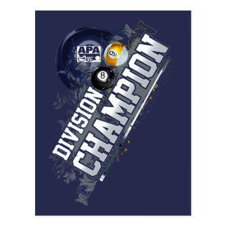 Division Champion Postcard
