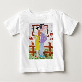 Divorce Battle - Custody of the Tortoise Baby T-Shirt