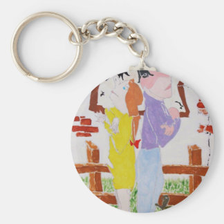 Divorce Battle - Custody of the Tortoise Key Ring