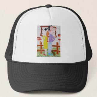 Divorce Battle - Custody of the Tortoise Trucker Hat