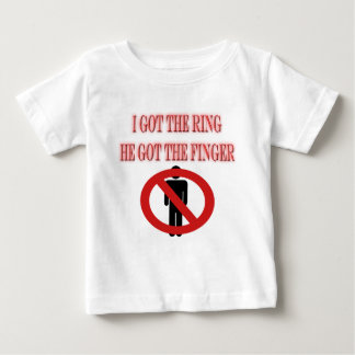 Divorce Breakup No Man Symbol  I Got The Ring T-shirts