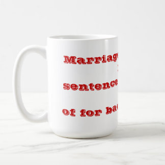 DIVORCE! COFFEE MUG