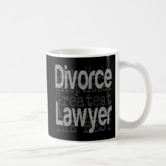 Divorce Lawyer Extraordinaire Coffee Mug