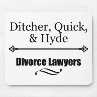 Divorce Lawyers Mouse Mat