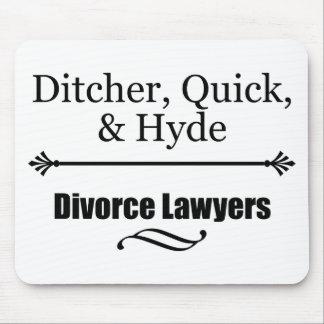 Divorce Lawyers Mouse Pad