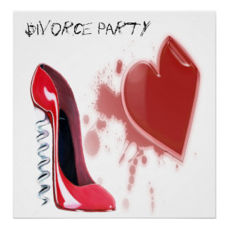 Divorce Party Poster