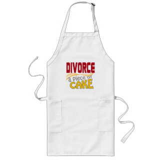 Divorce - Piece of Cake Long Apron